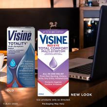 VISINE® Red Eye Total Comfort Multi-Symptom Eye Drops
