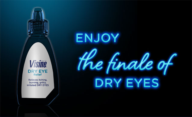 VISINE® Dry Eye Drops: Enjoy The Finale