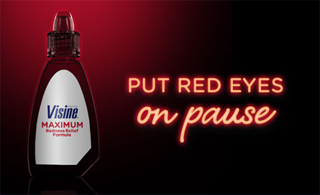 VISINE® Red Eye Drops: Put Red Eyes On Pause