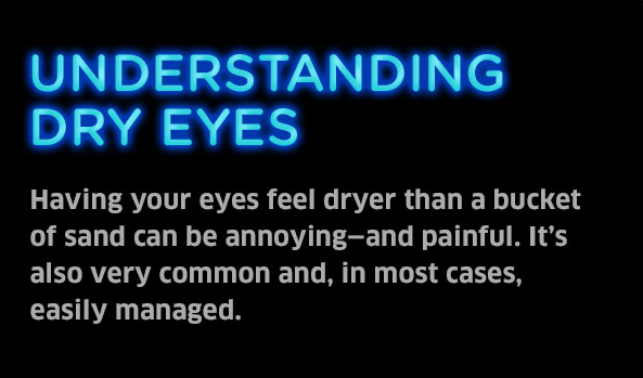 What Causes Dry Eyes?